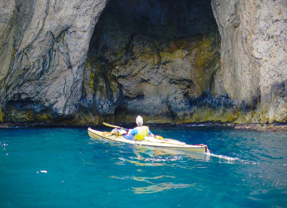Grotta del Tuono a Punta Troia